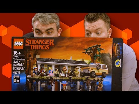 Stranger Things Lego Upside Down unboxing and build