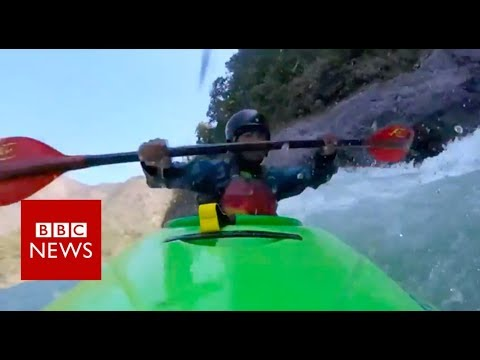 The Indians who used kayaking to transform their lives - BBC News