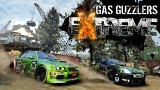Gas Guzzlers Extreme Gameplay Walkthrough - Single Player & Multiplayer - Part 1