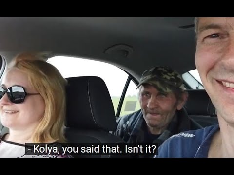 Kolya asked for a lift