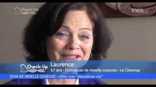 Check-Up – Don de moelle osseuse, lutte contre le cancer, Sidaction
