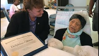 Top Ten Oldest Living People (January 2018)