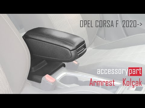 Accessorypart Opel Corsa F 2020- Armrest, Armlehne, Accoudoir, Brazo, Bracciolo,