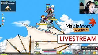 [LIVESTREAM] Reliving #MapleStory Memories (ft. my Subscribers)