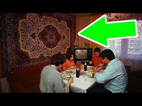 Почему в СССР вешали ковры на стену?