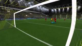 Gameplay Fifa 14   Borussia Dortmund vs Bayern Munich PS4