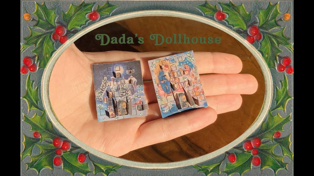 Dolls House 1//12th letto matrimoniale in pino con materasso Floreale fisso