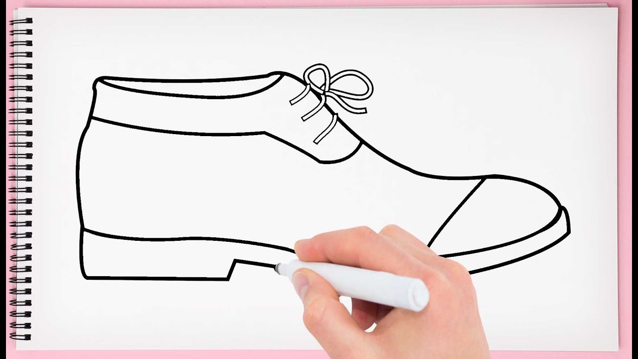 How To Draw Shoes Easy And Step By Step Learn How To Draw Shoes For