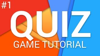 How to make a Quiz Game in Unity (E01. UI) - Tutorial