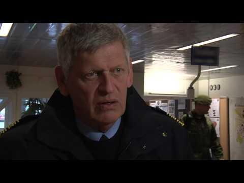 VIKING 14: Swedish county police commissioner Olof Ersgård