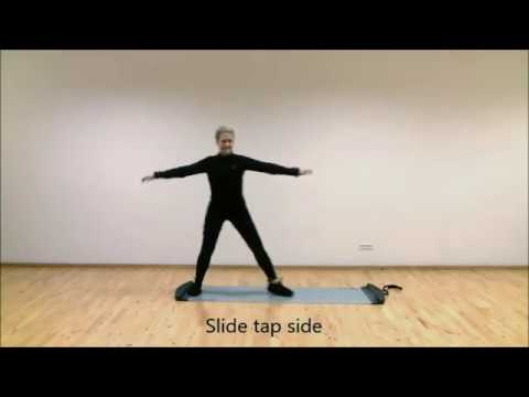 30 Best Slide Board Exercises For Cardio Workout | Lateral Movement Training