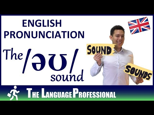 English Pronunciation | How to pronounce the /əʊ/ sound