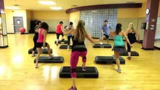 Step Cardio Choreography By Liana Santarossa SEPT 2014