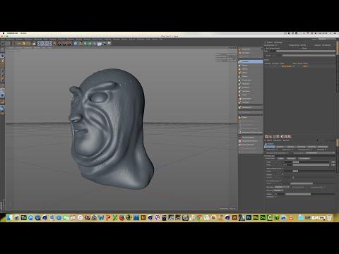 Charakter Sculpting Design Deutsch | Cinema 4D Tutorial