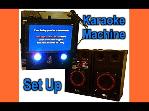 DIY Karaoke Machine Setup