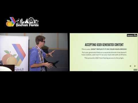 DevFest Florida - Securing your websites - Julien Vehent