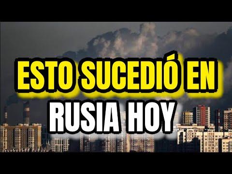 ¡Impactante No Lo Creerás! Esto Sucedió En Rusia Justo Ahora