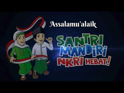 Az Zahir Assalamu'alaik live Santri Bersholawat 2017
