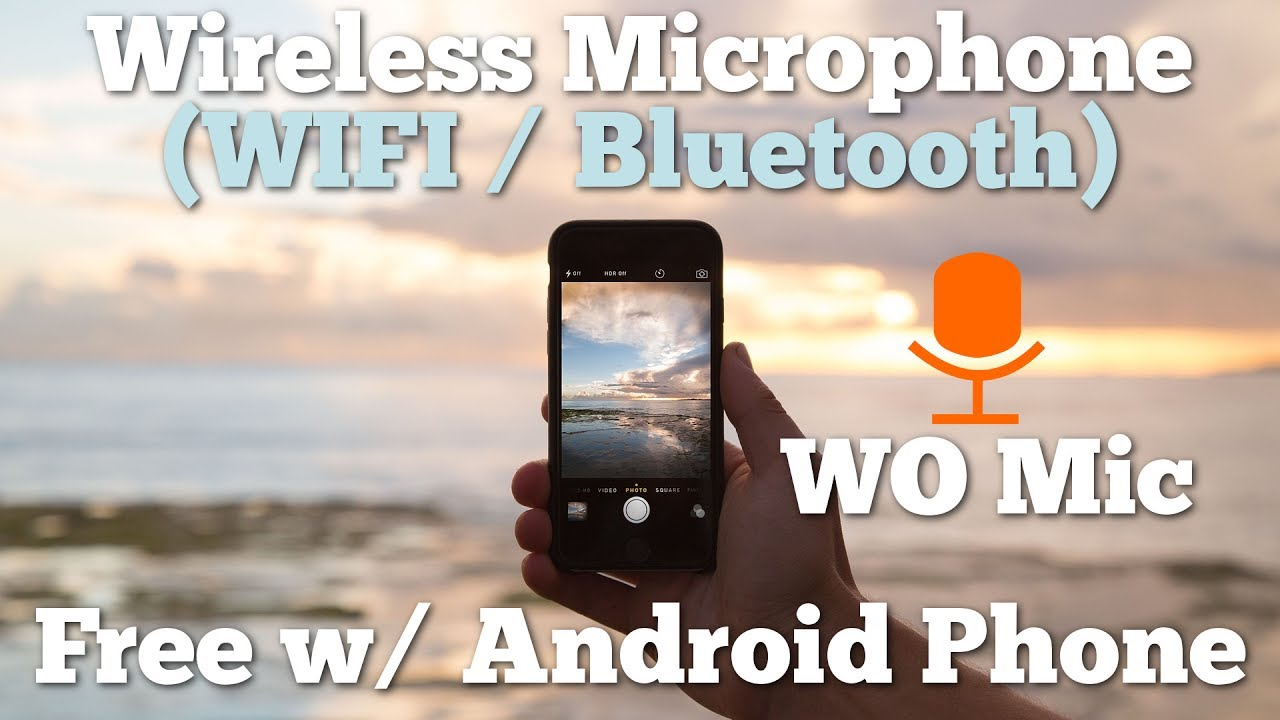 How to Turn Android Phone into Wireless Microphone for PC (Wifi /  Bluetooth) Tutorial
