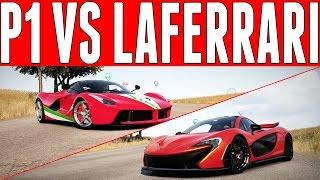 Forza Horizon 2 Versus : McLaren P1 vs Ferrari LaFerrari