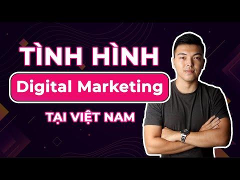 Tình hình ngành digital marketing tại Việt Nam