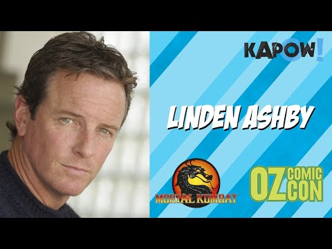 Linden Ashby  at Oz Comic Con