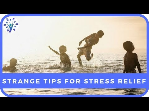 A WEIRD WAY TO REDUCE STRESS | Tips for a Happier Life
