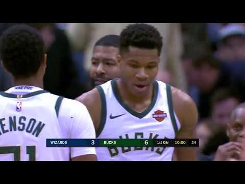 Washington Wizards vs. Milwaukee Bucks - November 20, 2017