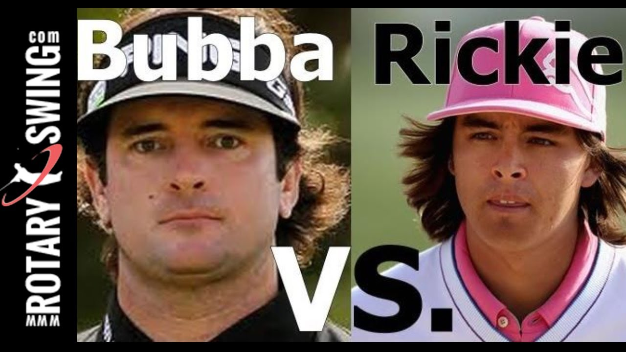 Golf Swing Analysis Rickie Fowler Vs Bubba Watson Youtube