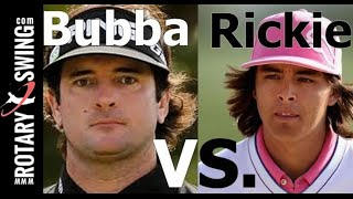 Golf Swing Analysis: Rickie Fowler vs. Bubba Watson (Golf