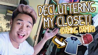 Decluttering My Closet! (Philippines) Ft. Louise Francisco   Cedrix Eligio