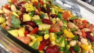 Mexican Salad in Gujrati