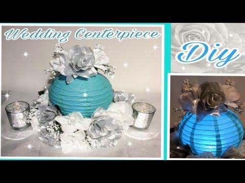 DIY LIghted Lantern Centerpiece / Dollar Tree  GLAM Floral Arrangement / SImply Easy #13
