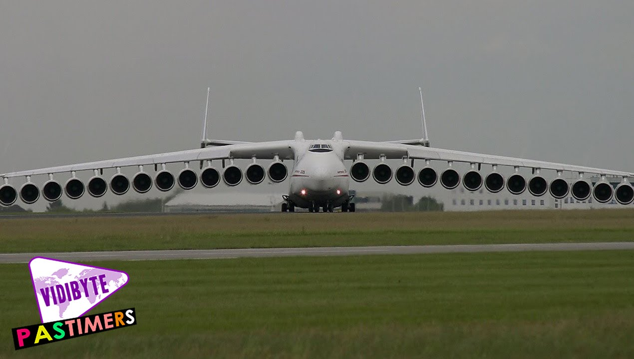 World's Longest Aircrafts - YouTube