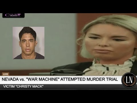 War Machine Trial Day 3 Part 2 (Christy Mack Testifies) 03/08/17