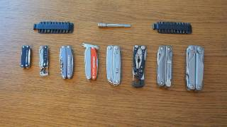 My Leatherman Multitool Collection