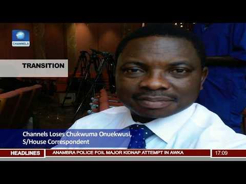 Channels TV Loses State House Correspondent, Chukwuma Onuekwusi