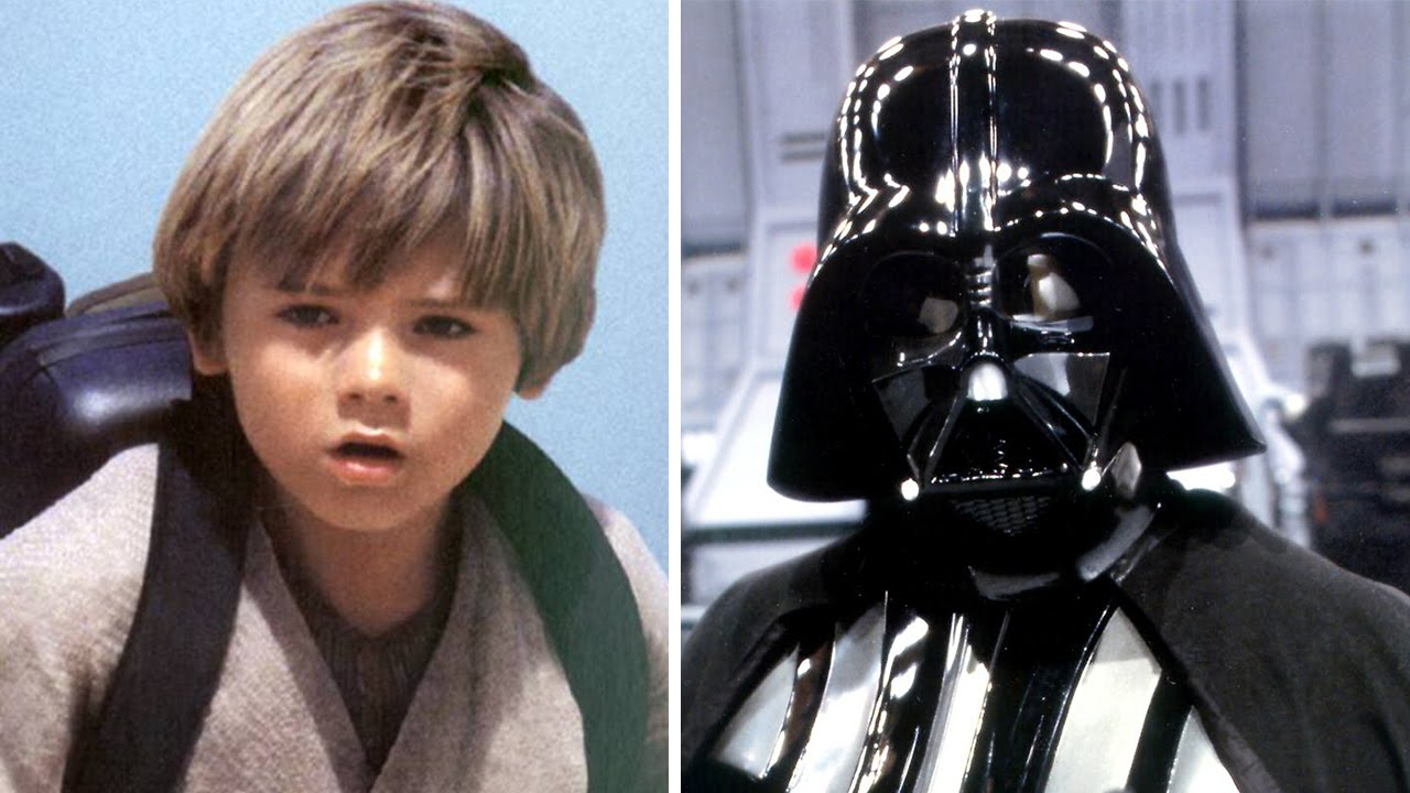 Darth Vader With Child Anakin S Voice Youtube