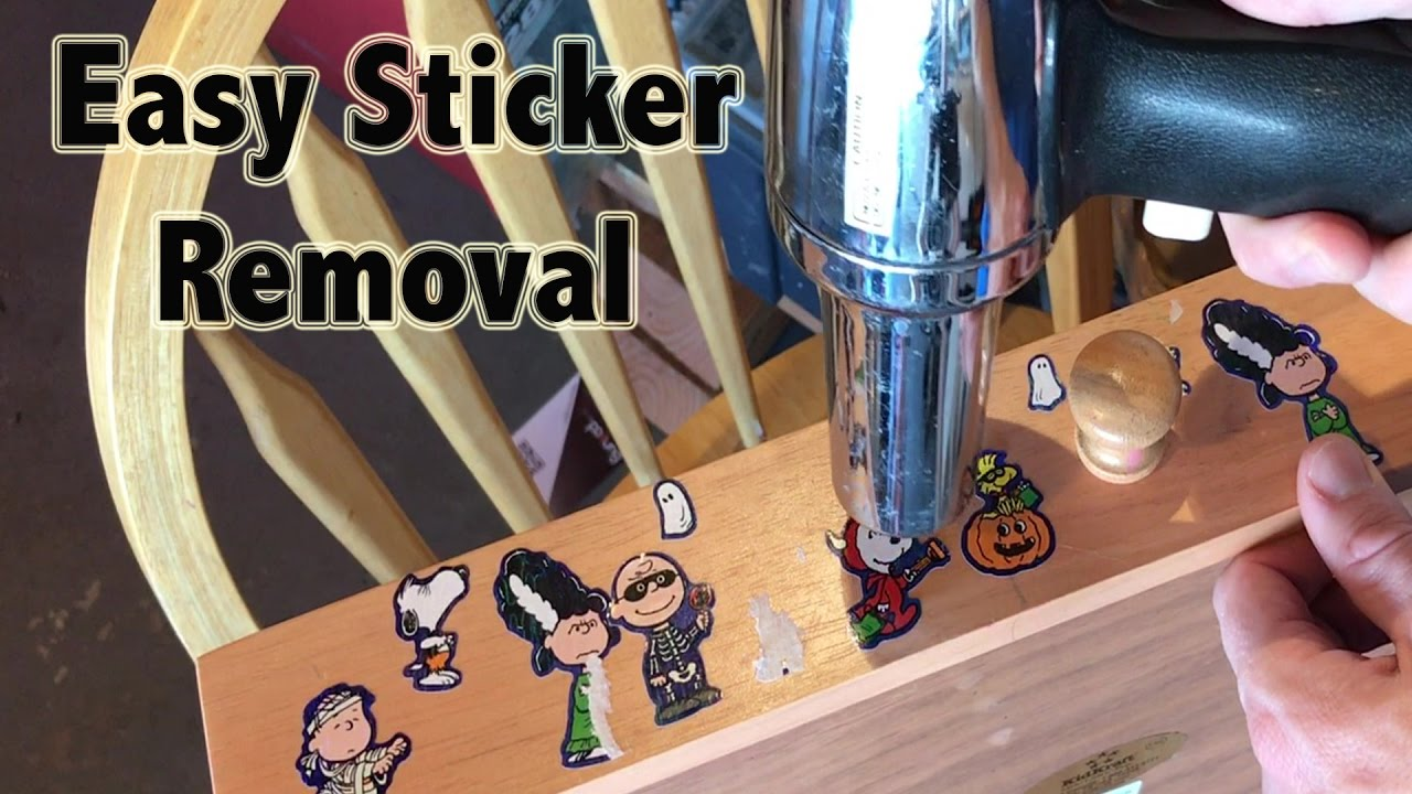 How To Remove Stickers Easy And