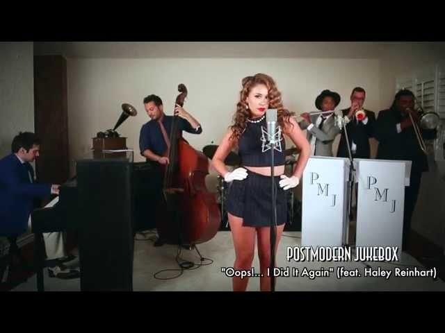 Oops!… I Did It Again – Vintage Marilyn Monroe Style Britney Spears Cover ft. Haley Reinhart