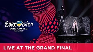 Dihaj - Skeletons (Azerbaijan) LIVE at the Grand Final of the 2017 Eurovision Song Contest