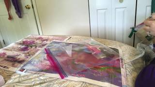 Diamond Painting Unboxing - Floral Teapot and Iris