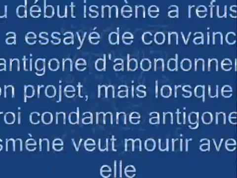 Antigone résumé - YouTube