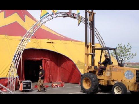 El Katif Shrine Circus arrives in Pasco