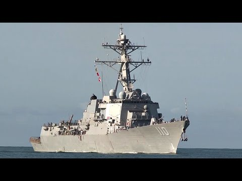 USS William P. Lawrence Arrives At Pearl Harbor For RIMPAC 2016