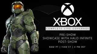 🔴 XBOX Games Showcase LIVE: HALO INFINITE Demo, FABLE, Pre+Post Show (Official)