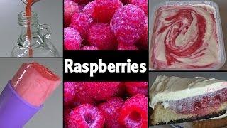 Raspberry Recipes: Lolly, Vinegar, Ripple & Flan