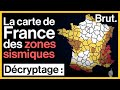Tremblements De Terre : La Carte De France Des Zones Sismiques