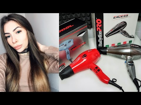 Как выбрать идеальный фен для волос? Обзор фена BaByliss Pro Excess и Parlux Advance Light Red