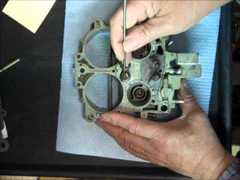 Rochester quadrajet rebuild part 2 funnydog tv for Electric motor repair rochester ny